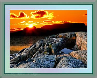 Lake Superior, Ontario, Canada, Rictographs Images