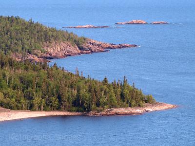 Precambrian Shield,  North Coast of Lake Superior