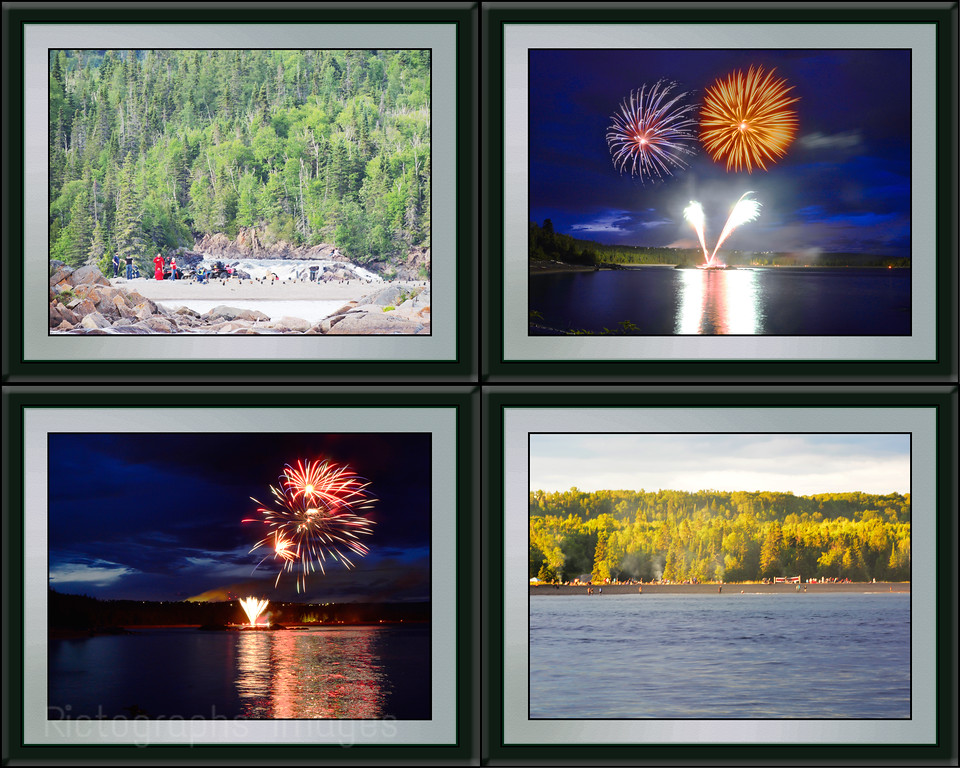 Canada Day Beach Party, Compilation, 2016, Rictographs Images