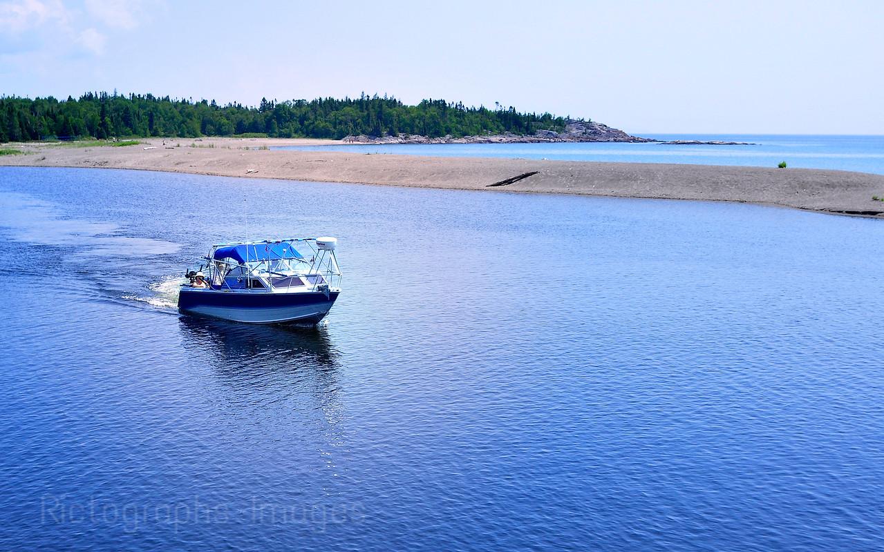 Aguasabon River, Lake Superior Day, July 2012, Terrace Bay, Ontario, Canada