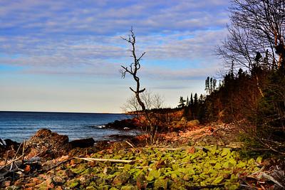 Spring 2017, Lake Superior's Landscape,