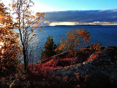 Lake Superior Landscape, Autumn 2018