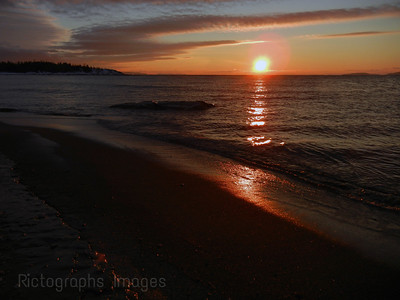 Lake Superior, Shot Near the mouth of the Aguasabon River, Terrace Bay, Ontario, Canada