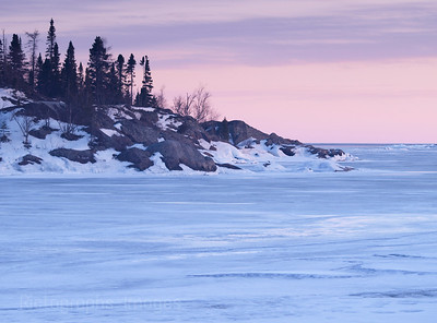 Winter Along the North Shore Waters and Waves Sculpting the North Shore of Lake Superior