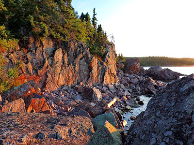 Lake Superior's Rocky Coast, Summer 2019