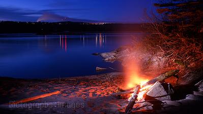 The Historical Skyline, Lake Superior, Terrace Bay, Ontario, Canada,  Summer 2014