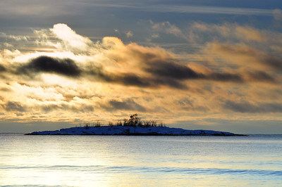 Lake Superior, Sunrise,