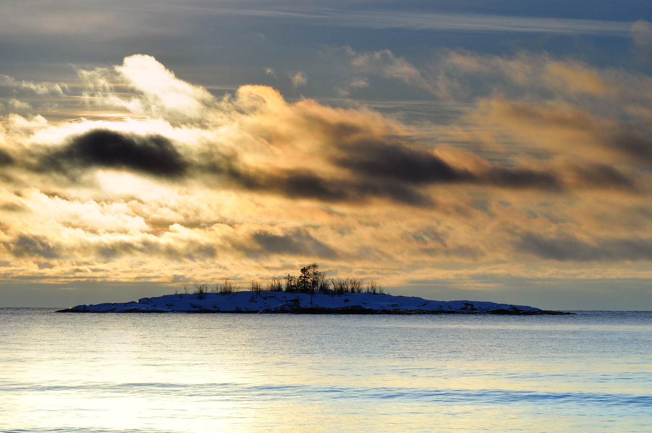 Lake Superior, Sunrise,
