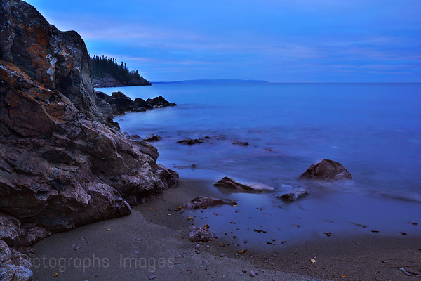 The Rocky Shores Of Lake Superior,