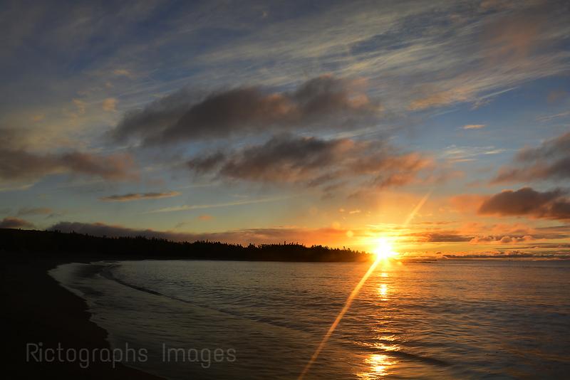 The Beach Terrace Bay, Ontario, Canada, September 2014