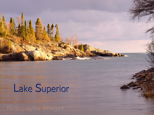 Lake Superior, Danny's Cove, Along the Casques Isles Hiking Trail