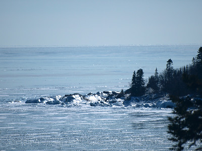 Winter North Shore  Waters and Waves Sculpting the North Shore of Lake Superior