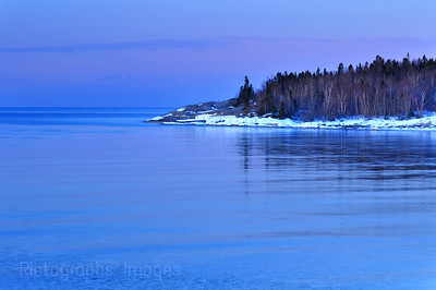 Lake Superior, Near Mouth of the Aguasabon River Waters and Waves Sculpting the North Shore of Lake Superior