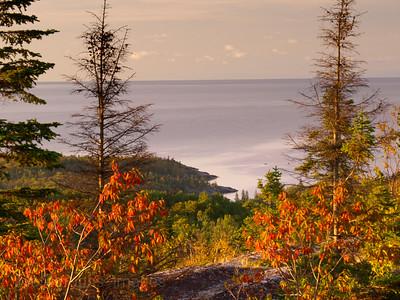 The Beautiful Coast Of Lake Superior