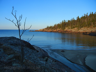 Lake Superior, Beach,, photography, landscape, blue, Canada,Ontario,823