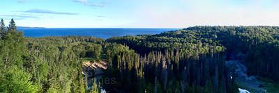 Lake View Looking Southwest