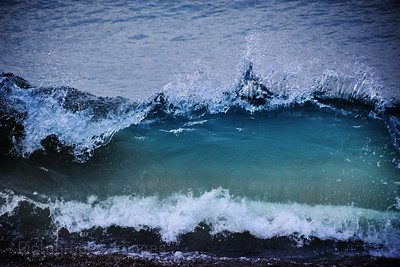 Lake Superior Blue Water Wave
