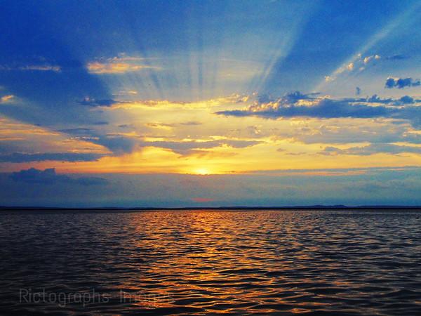#A Superior Morning Sunrise,
