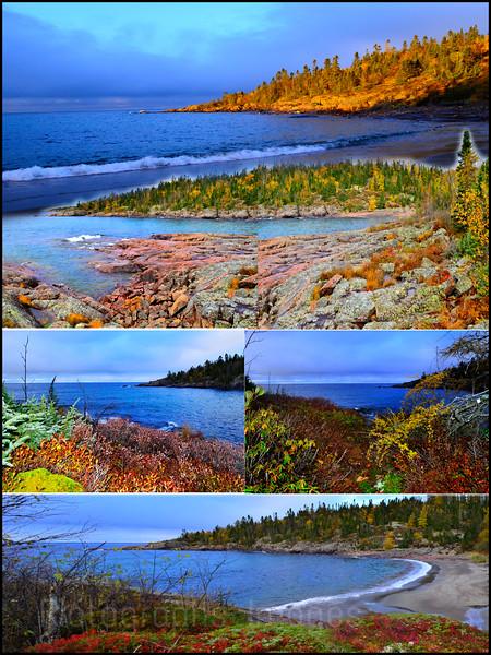 Lake Superior, Landscapes, 2018