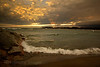 A Lake Superior Beach Landscape Photo, Rictographs Images