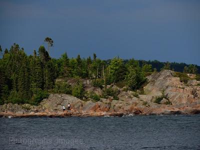Lake Superior, Hiking, Rictographs Images