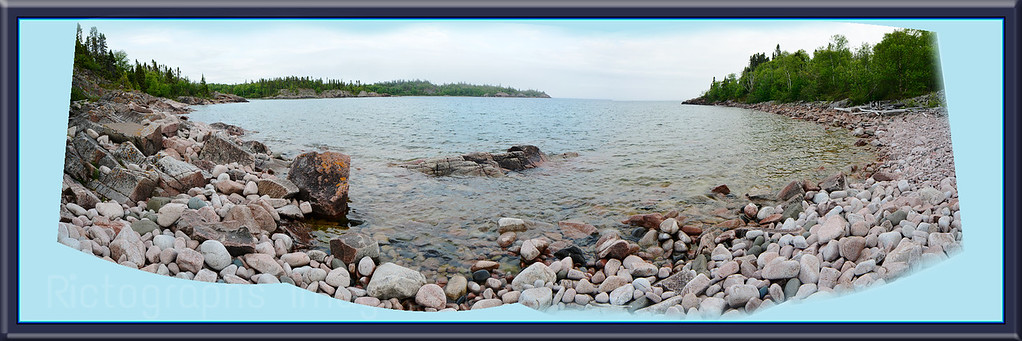 Lake Superior Panorama, 3 to 1 Ratio,d-1