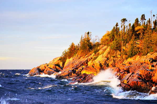 Rocky Lake Superior, Photography, Rictographs Images