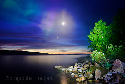 Long Exposure, Photography, Lake Superior & The Northern Lights,Terrace Bay,  Ric Evoy, Rictographs Images