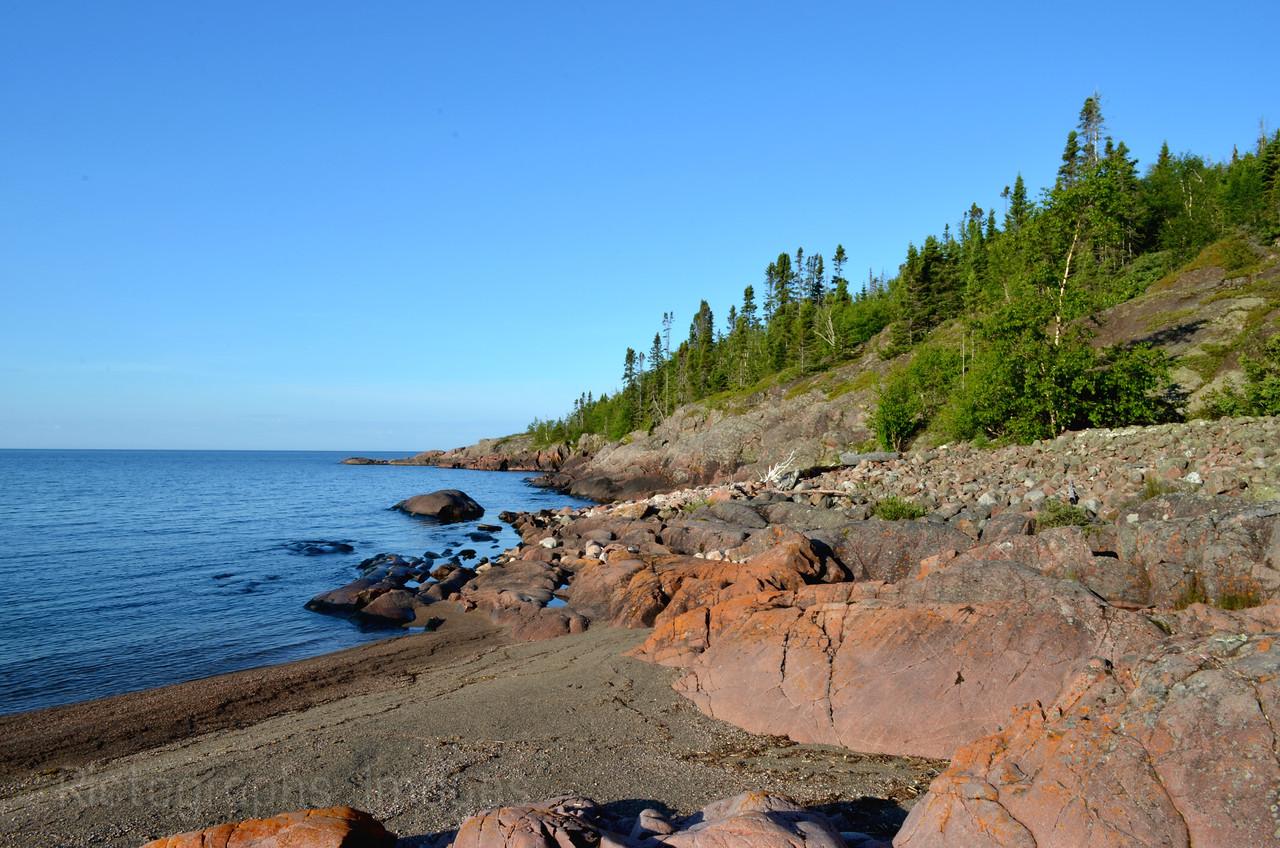 BlueWater Beach, Terrace Bay, Ontario, Canada