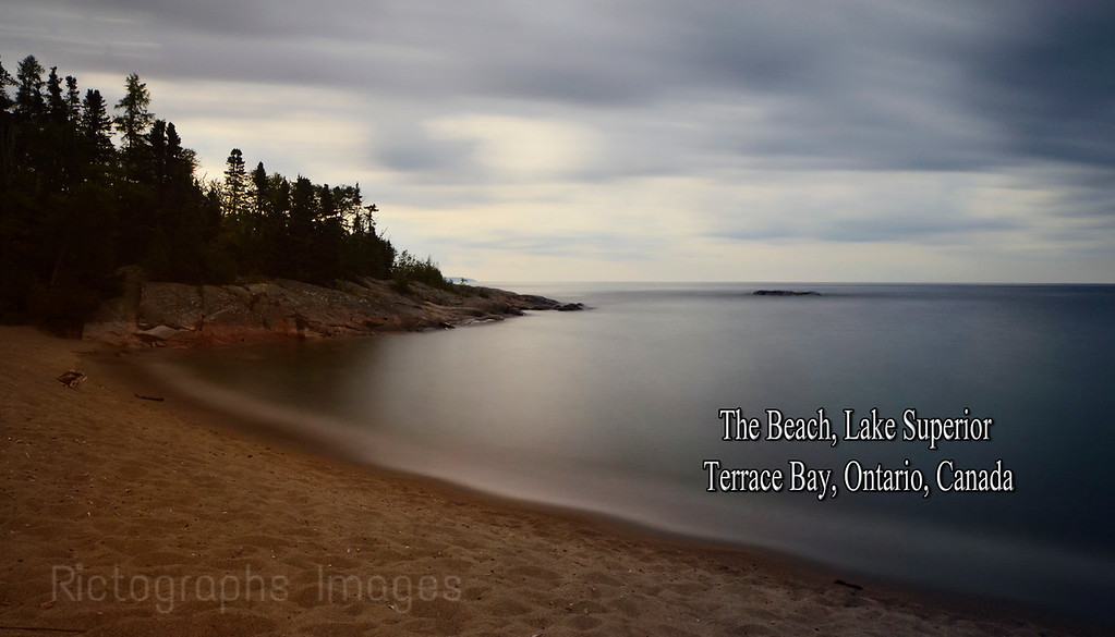 Lake Superior; Photography; Water, Beach, Terrace Bay; Ontario; Canada; Summer2016