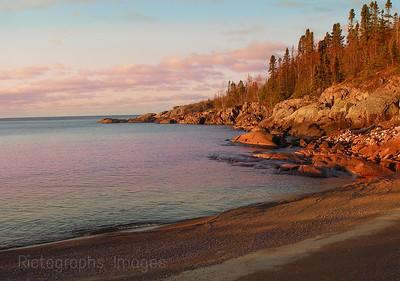Lake Superior Shoreline, Precambrian Bedrock