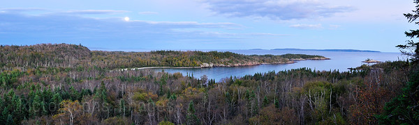 Lyda Bay, Lake Superior, Casques Isles, Hiking Trail, Ontario, Canada