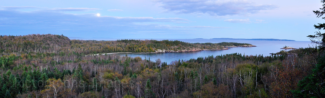 Lyda Bay, Lake Superior, Casque Isles, Hiking Trail, Ontario, Canada