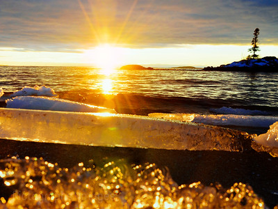 The Beach, Terrace Bay, Ontario, Canada #A #LakeSuperior Landscape ImageRictographs Images