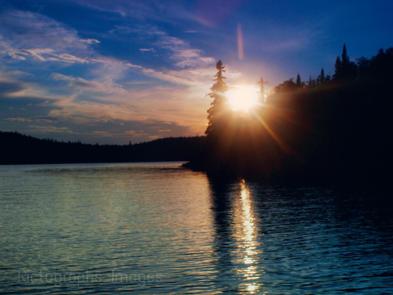 Lake Superior Waters, Sun Set