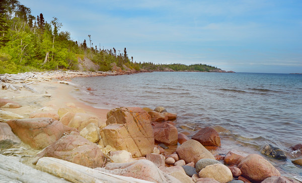 Lake Superior Casque Isle, Hiking Trail, Lyda Bay, Photography