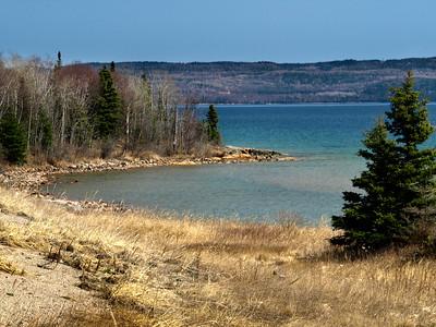 Lake Superior Near Rossport Ontario Canada