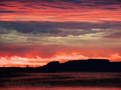 Nanabijiou, Sleeping Giant, Lake Superior, Rictographs Images
