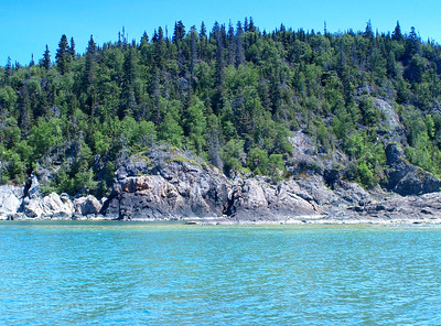 Lake Superior's Rugged Shore.