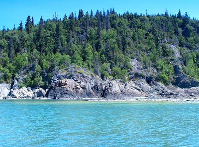 Lake Superior's Rugged Shore.