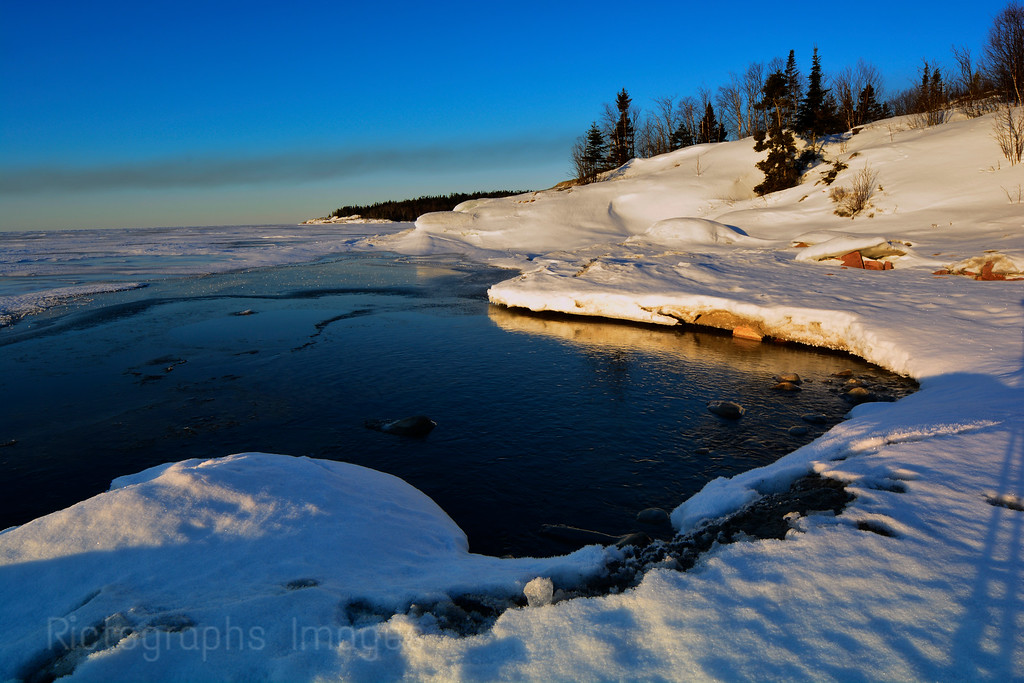 Lake Superior, Gitche-Gumee, Photos, March 2015, Terrace Bay, Ontario, Canada 22