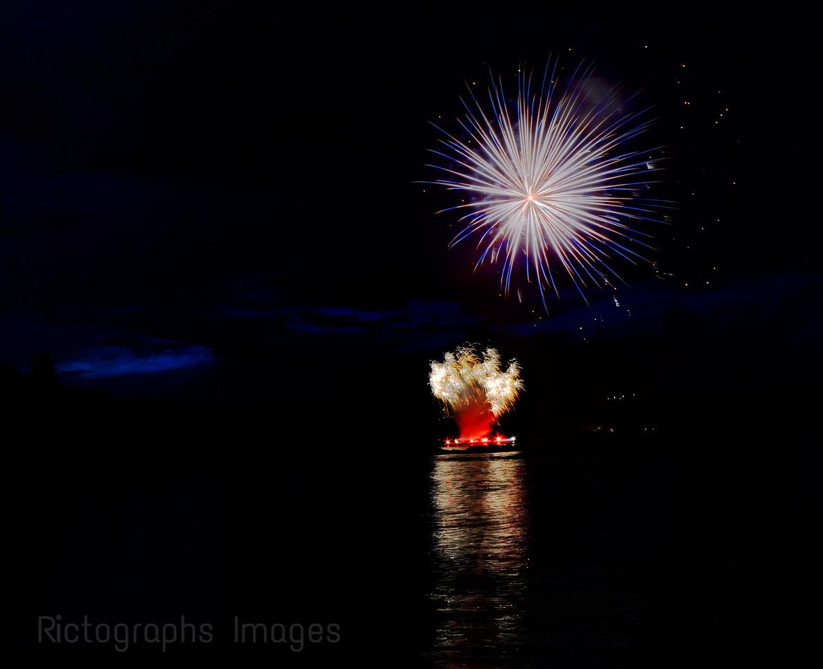 Canada Day, Fireworks, Summer 2016