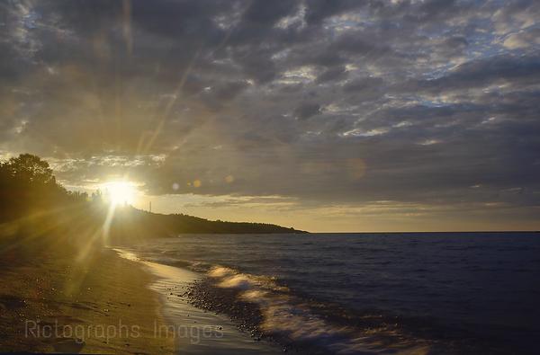 Lake Superior, Sun Rise