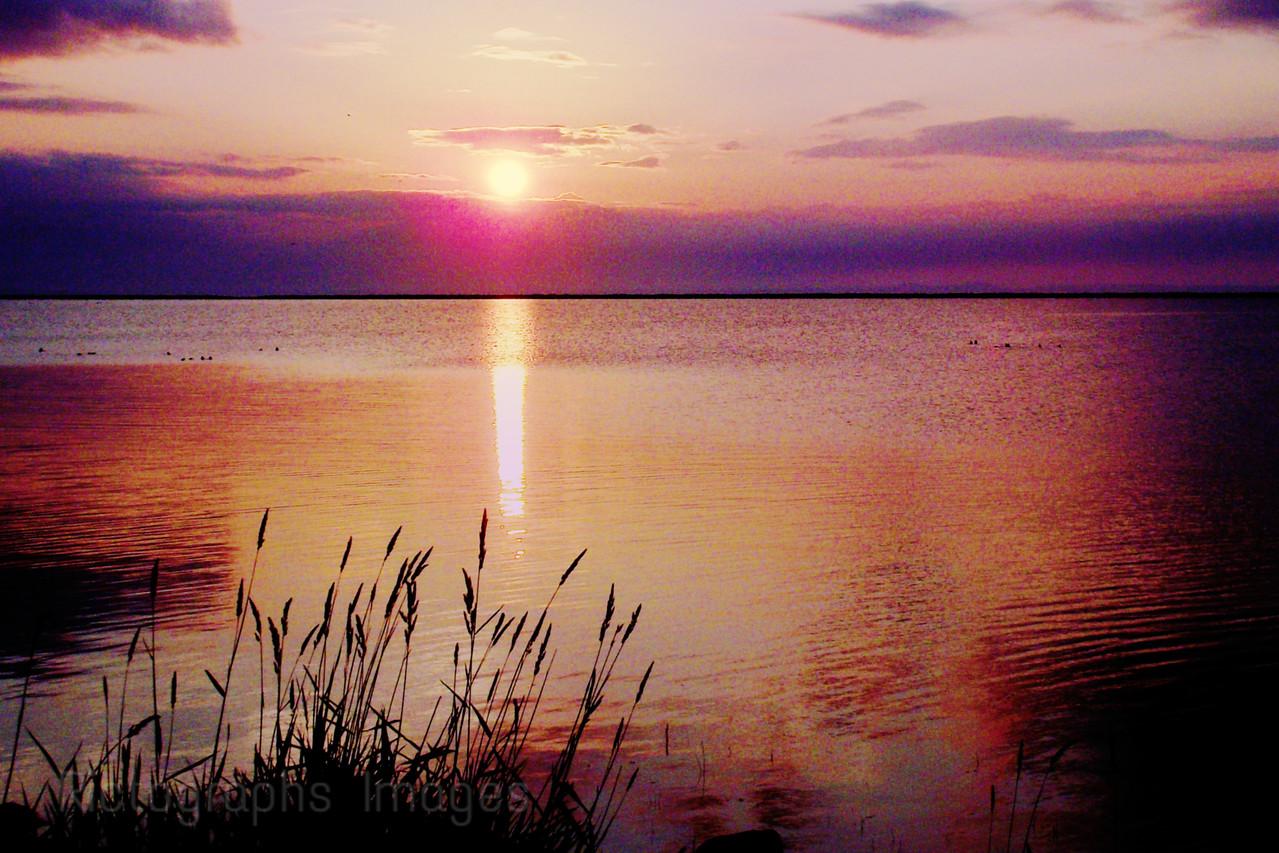 Sun Rise, Lake Superior, Thunder Bay, Ontario, Canada