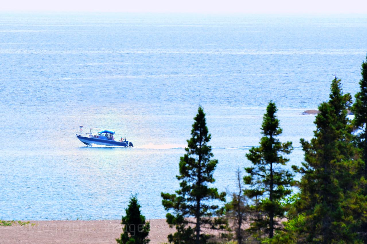Boating Lake Superior