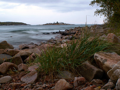 Lake Superior Near Terrace Bay, Ontario, Canada