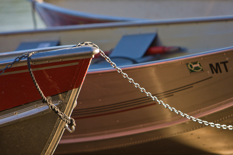 Boat Detail, Apgar Village