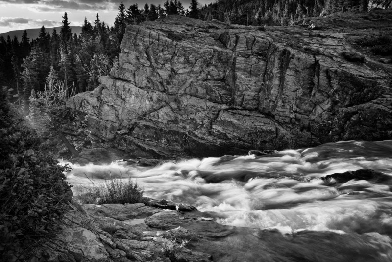 Stillwater River at Sunrise BW
