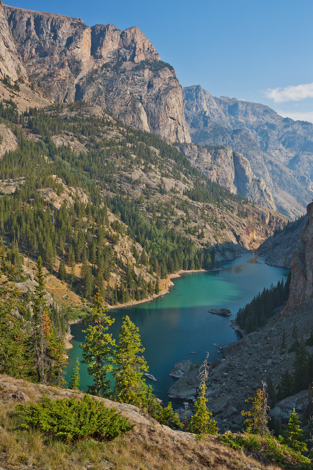 Rimrock Lake, Absaroka-Beartooth Wilderness, MT