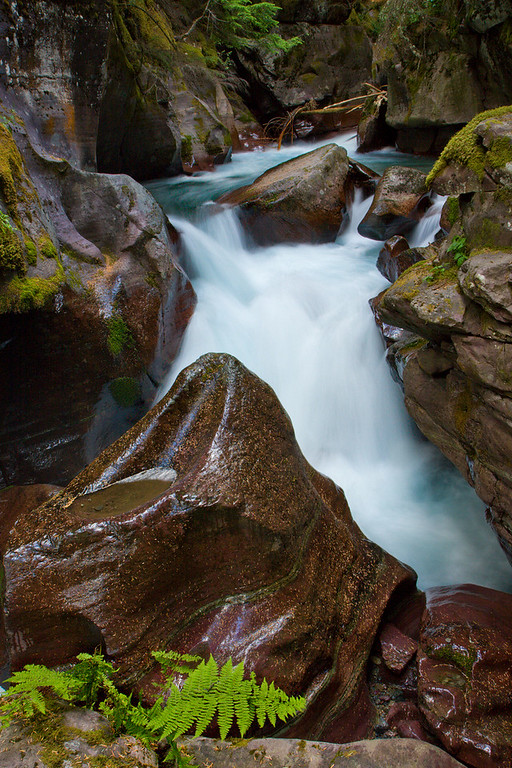 More Along Avalanche Gorge